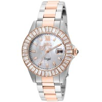 Invicta Women's 22325 Angel Quartz 3 Hand White Dial Watch