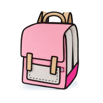 JumpFromPaper™ Spaceman (Pink)