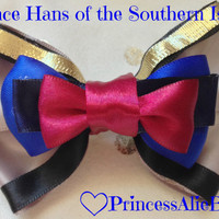 Frozen's Prince Hans of the Southern Isles Hair Bow