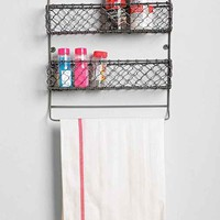 4040 Locust Wire Kitchen Storage Rack- Grey One
