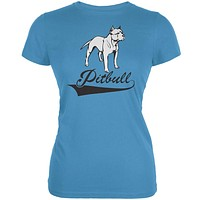 Pit Bull Aqua Juniors Soft T-Shirt