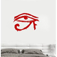Vinyl Wall Decal Eye of Horus Amulet Talisman Ancient Egypt Stickers Unique Gift (068ig)
