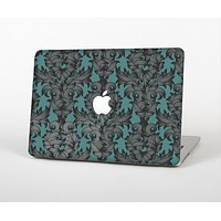 """The Teal Leaf Foliage Pattern Skin for the Apple MacBook Air 13"""""""