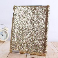 Shiny Sparking Hard Cover Protective Case For Ipad
