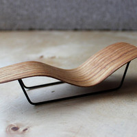 micro bent plywood chaise lounge