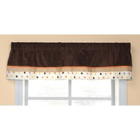 Carter's Sunny Safari Valance (Brown)