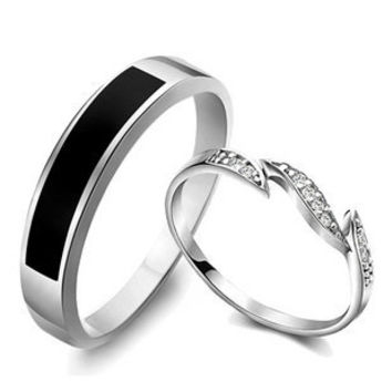 Gullei Trustmart : Diamond promise rings for couples [GTMCR0039] - $39.00-Couple Gifts, Cool USB Drives, Stylish iPad/iPod/iPhone Cases & Home Decor Ideas