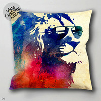 29 Sunny Leo Colorfull Vintage  pillow case, cover ( 1 or 2 Side Print With Size 16, 18, 20, 26, 30, 36 inch )