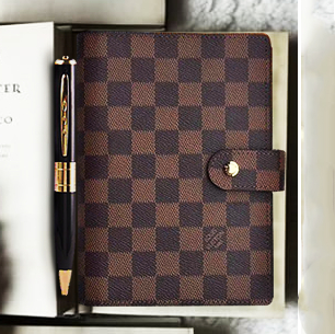 Image of LV Louis Vuitton Fashion Boys and Girls Chic Portable Notebook