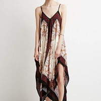 Paisley Cami Trapeze Dress