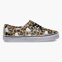 Vans Hello Kitty Authentic Kids Shoes Leopard/True White  In Sizes