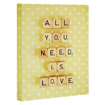 Happee Monkee All You Need Is Love 1 Art Canvas
