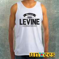 Maroon 5 Adam Levine World Tour 2015 Clothing Tank Top For Mens