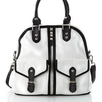 R&J Handbags by Romeo & Juliet Couture - Flap-Pocket Tote - Last Call