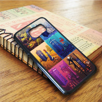 Doctor Who Tardis Beauty And The Beast Samsung Galaxy S6 Edge Case