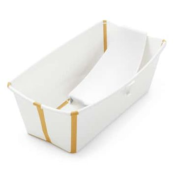Stokke Flexi Bath® Foldable Baby Bath Tub with Temperature Plug & Infant Insert | Nordstrom