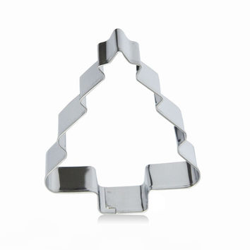 Baking Mini Metal Christmas Tree Shape Gingerbread Biscuit Pastry Cookie Cutter = 1697632836