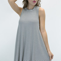 Made To Love Seersucker Sleeveless Dress