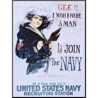 Art.com - Gee!! I Wish I Were a Man c.1918