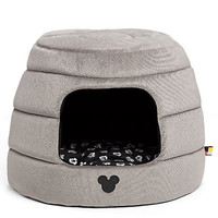 Disney Mickey Mouse Honeycomb Hut Pet Bed Gray Jumbo New with Tags