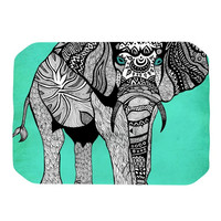 """Pom Graphic Design """"Elephant of Namibia Color"""" Place Mat"""