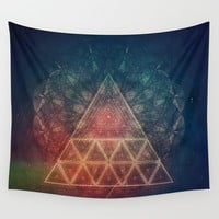 zpy yyy tryy Wall Tapestry by Spires