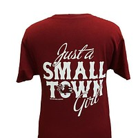 South Carolina Gamecocks Small Town Girl Girlie Bright T Shirt