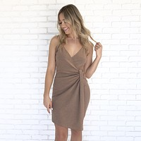 Amber Wave Asymetrical Dress