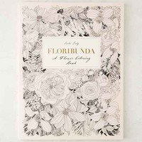 Floribunda: A Flower Coloring Book By Leila Duly