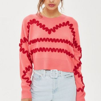 Squiggle Corduroy Jumper - New In Fashion - New In