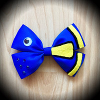 Finding Dory Disney Character Inspired Hair Bow