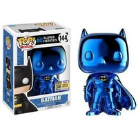 Funko POP! DC Blue Chrome Batman #144 (2017 SDCC Exclusive)