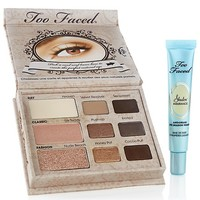 Too Faced Natural Eye Shadow Collection with Primer at HSN.com
