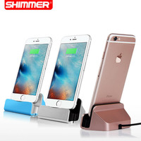 USB Cable Charger Dock Stand Station Cradle Charging Dock Station For Apple iPhone