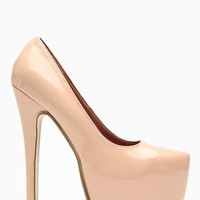 Liliana Nude Maniac Almond Toe Pumps @ Cicihot Heel Shoes online store sales:Stiletto Heel Shoes,High Heel Pumps,Womens High Heel Shoes,Prom Shoes,Summer Shoes,Spring Shoes,Spool Heel,Womens Dress Shoes