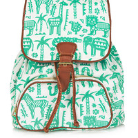 Safari Zoo Backpack - Animal Kingdom - New In - Topshop USA