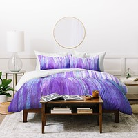 Sophia Buddenhagen Purple Stream Duvet Cover