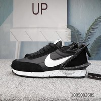 DCCK N541 UNDERCOVER x Nike Waffle Racer Sports Casual Shoes Black White