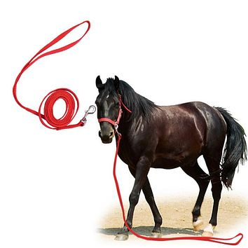 Adjustable 3m Halters Horse Reins Riding Equipment Halter Horse Bridle With Bit And Fixed Rein Belt FREE SHIPPING