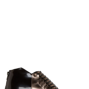 Robert Clergerie Black Woven Leather Oreste Shoes