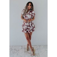Floral Fields Dress: Multi
