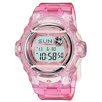 Baby-G Pink Jelly Digital Watch - Pink