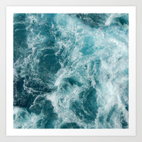 Sea Art Print by Studio VII