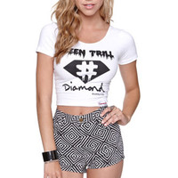 Been Trill x Diamond Supply Co. Cropped Tee at PacSun.com