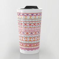 NATIVE BANDANA Travel Mug by Nika | Society6
