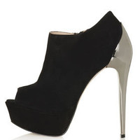AMINA Cup Heel Shoe Boots - New In This Week  - New In