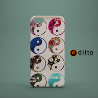 YING YANG EARTH Design Custom Case by ditto! for iPhone 6 6 Plus iPhone 5 5s 5c iPhone 4 4s Samsung Galaxy s3 s4 & s5 and Note 2 3 4