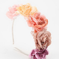 Rouge Pony Flower Crown Headband