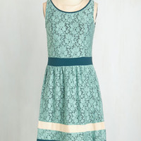 Mid-length Sleeveless A-line Listen to Your Art Dress by ModCloth