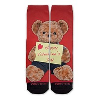 Function - Valentine's Day Teddy Bear Fashion Socks
